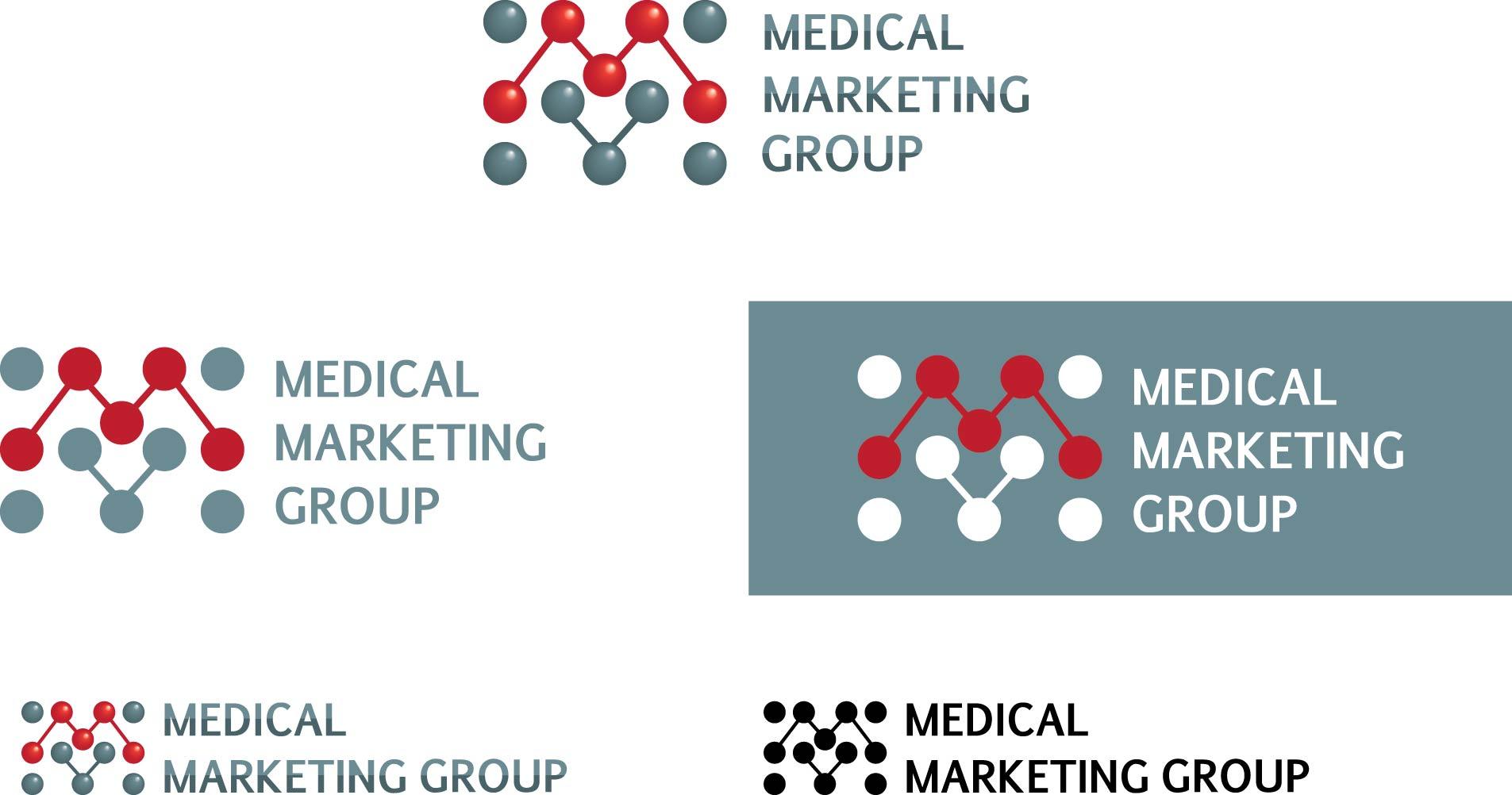 Логотип и фирменный стиль для Medical marketing group