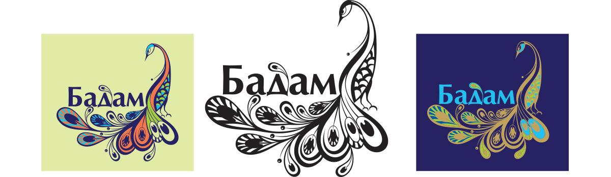 """Логотип для бренда восточных сладостей """"Бадам"""""""